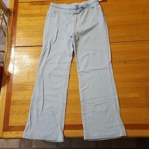 Green Dog Girls Blue Pants Stretch 6